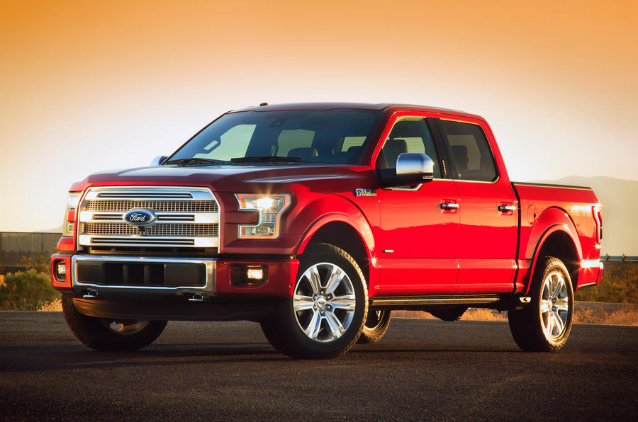 All-new Ford F150 unveiled at Detroit motor show