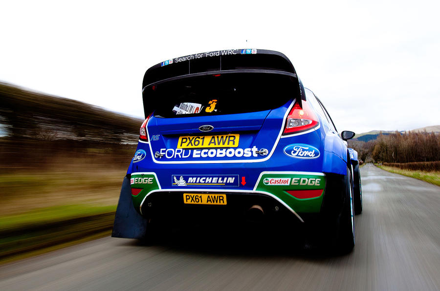 Ford Fiesta RS WRC driven