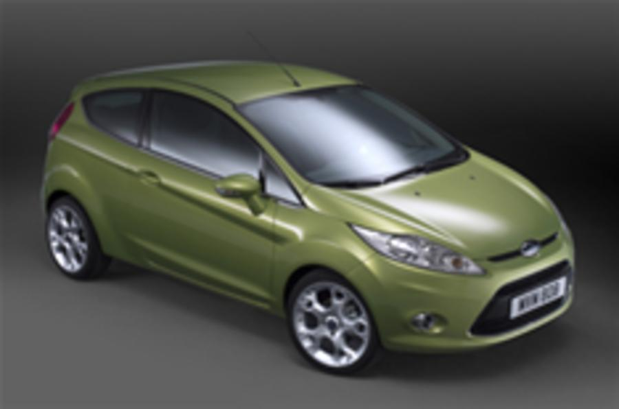First pictures: new Ford Fiesta