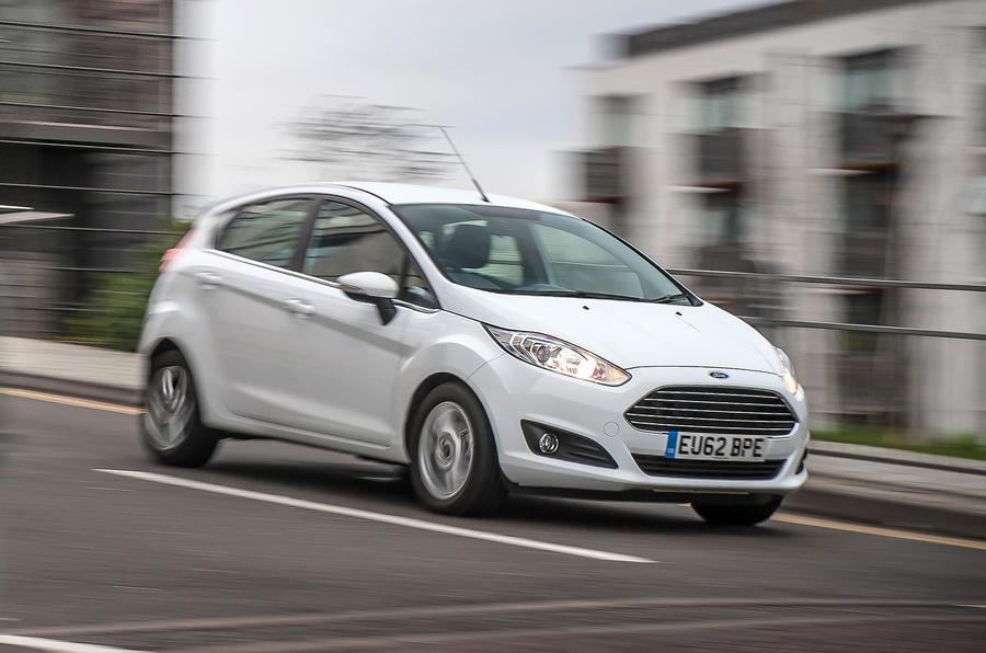 Ford Fiesta front quarter