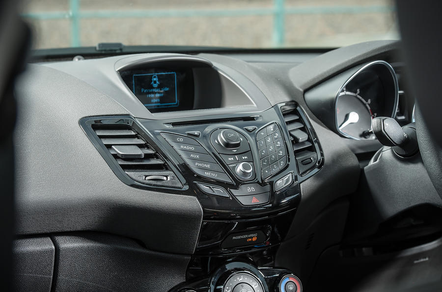 Ford Fiesta Interior