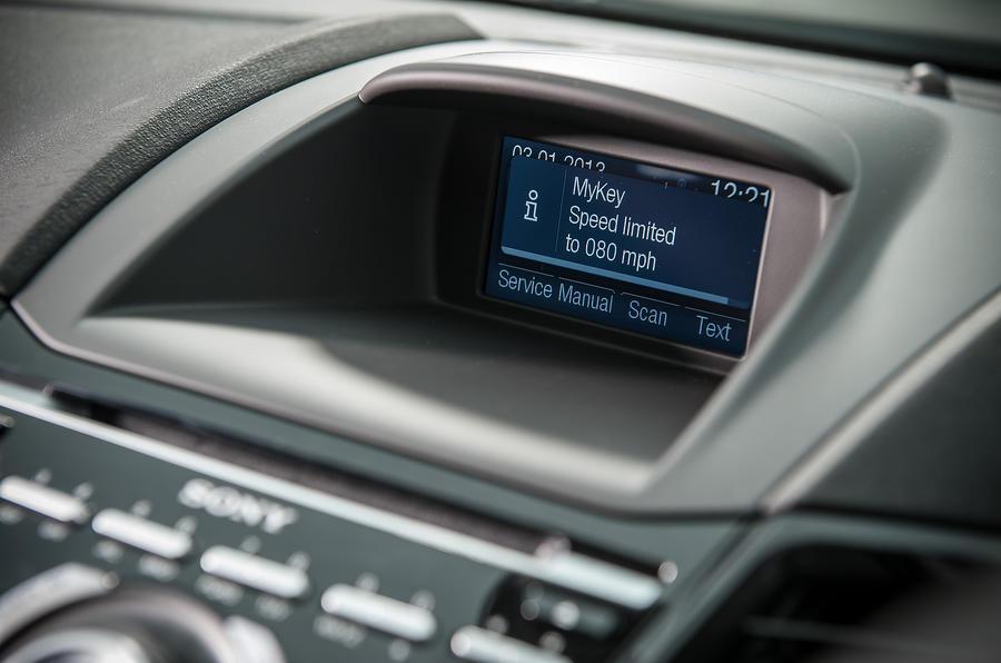 Ford Fiesta infotainment screen