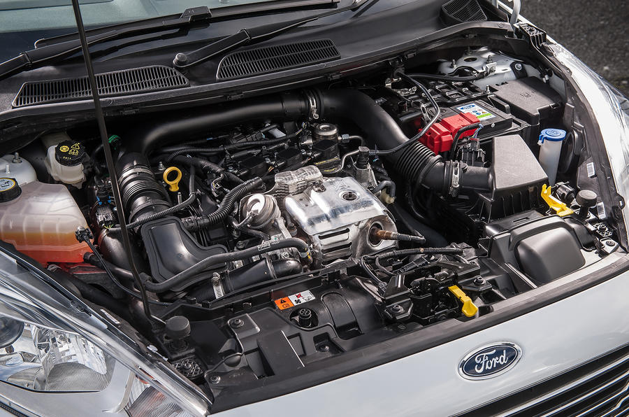 Ford Fiesta Engine Bay