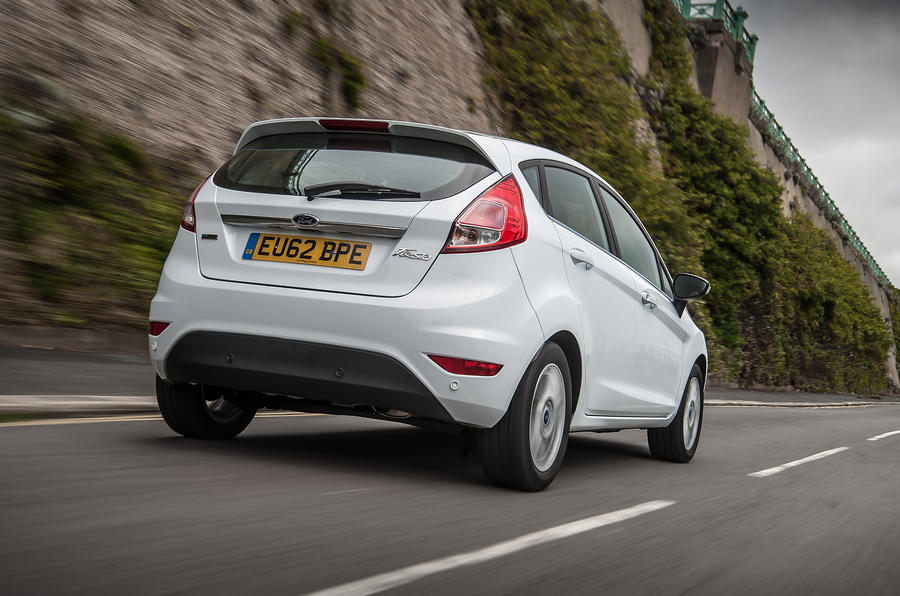Ford Fiesta rear quarter