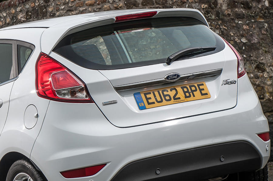 Ford Fiesta rear end