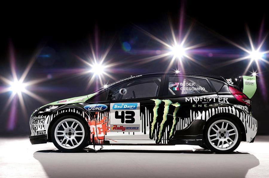 Ford's 'Monster' Fiesta revealed
