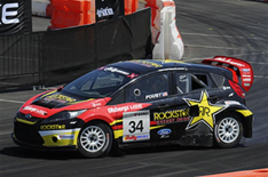 Ford Fiesta at the X Games