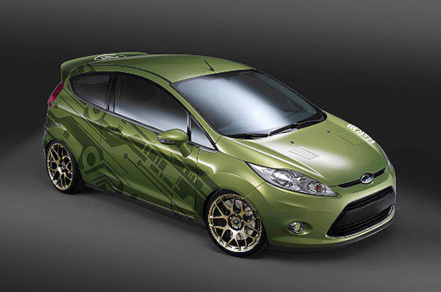 Ford Racing's 345bhp Fiesta