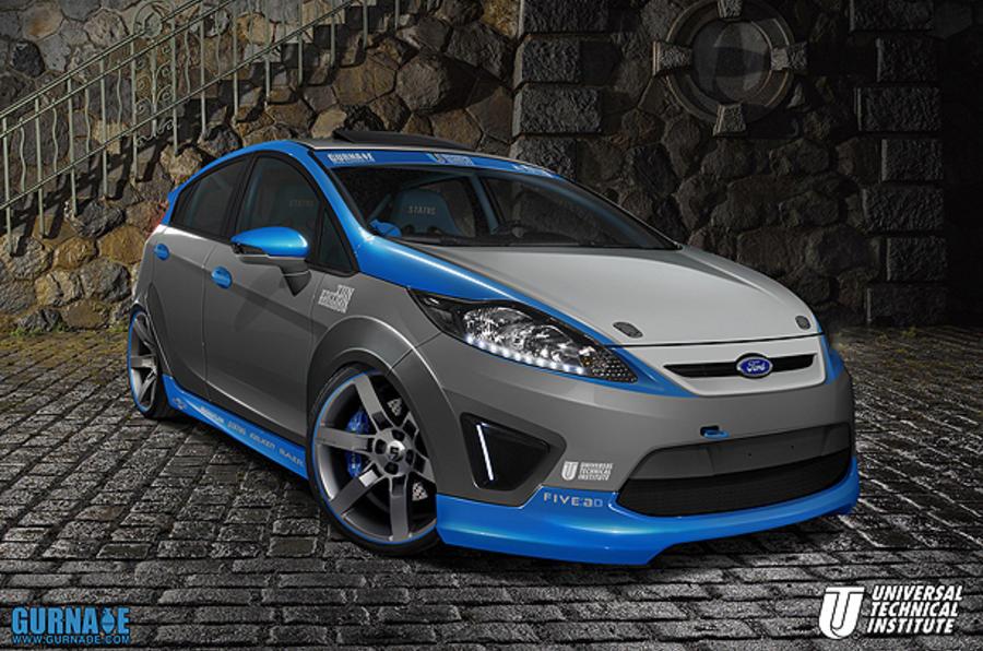 Ford Racing's 345bhp Fiesta