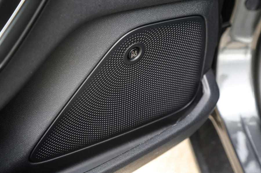 Ford Fiesta Bang and Olfsen audio system