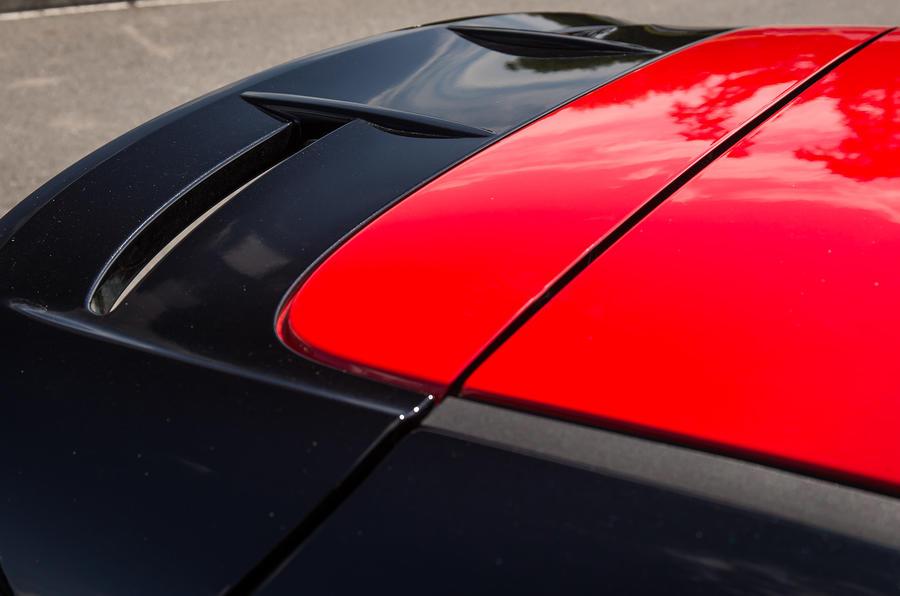 Fiesta Black's red roof