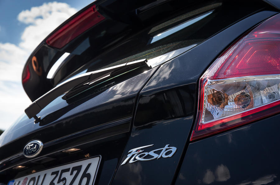 Ford Fiesta badging