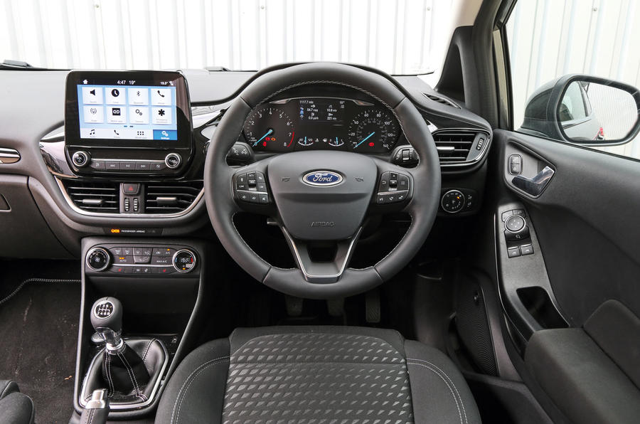 Ford fiesta performance autocar for Dash designs car interior shop