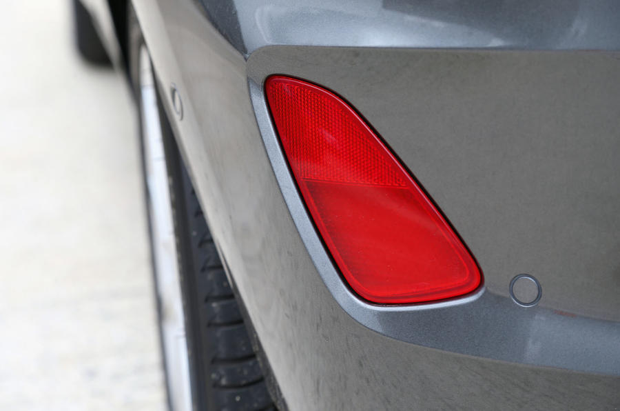 Ford Fiesta rear foglight