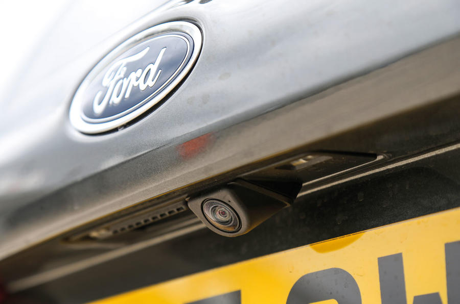 Ford Fiesta rear view camera
