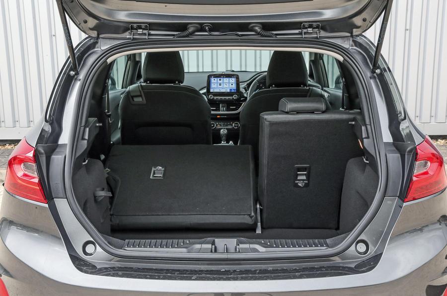 Ford Fiesta seating flexibility