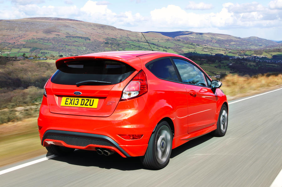 Ford Fiesta ST rear
