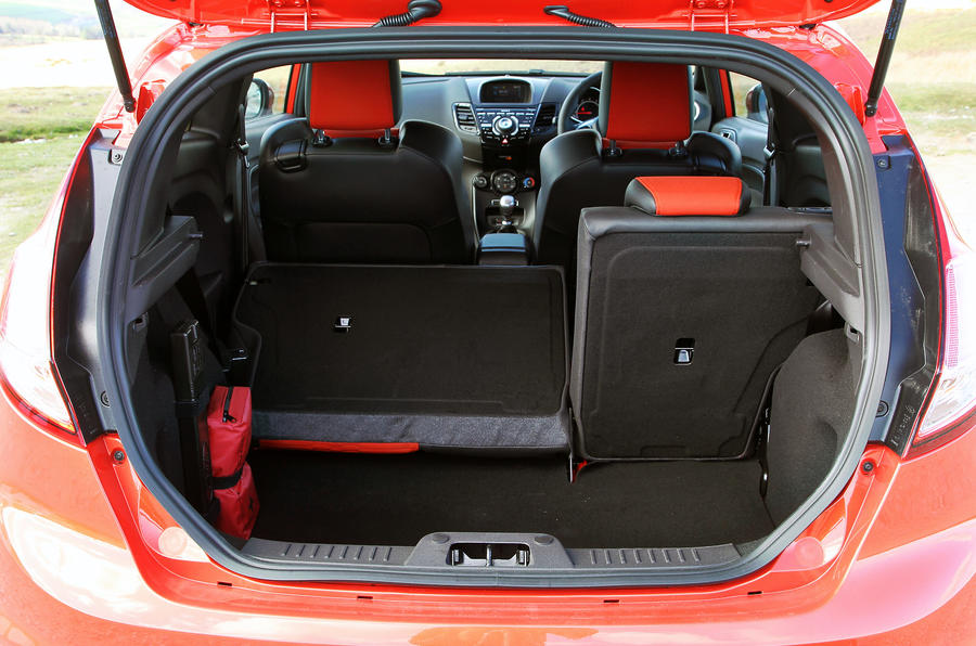 Ford Fiesta ST boot space