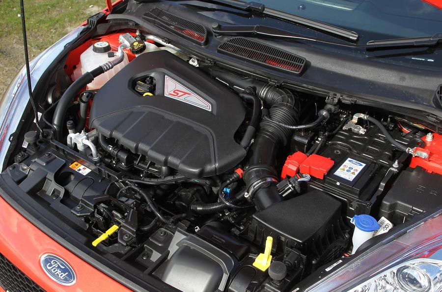 1.6-litre EcoBoost Fiesta ST engine