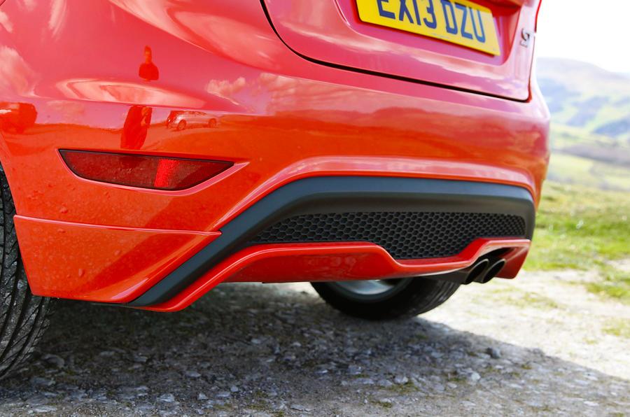 Ford Fiesta ST rear diffuser
