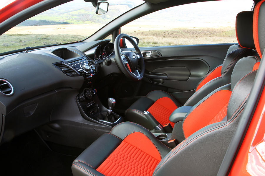 Ford Fiesta ST front seats