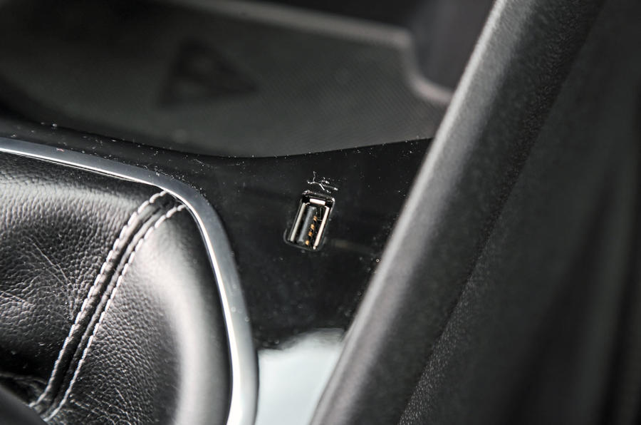 Ford Fiesta USB connectivity