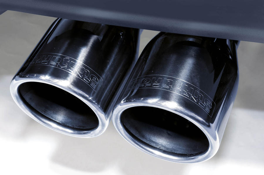 Ford Fiesta Zetec S Mountune exhaust