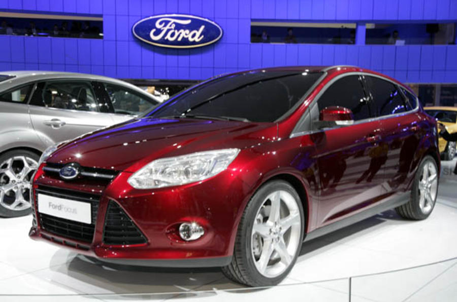 Ford's 10 Focus variants by 2012