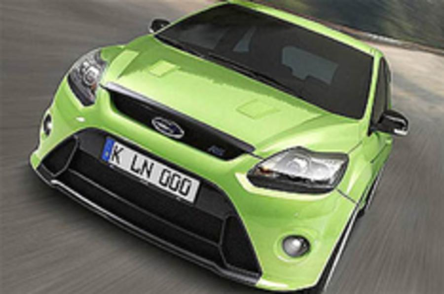 Ford Focus RS: Official pics leaked