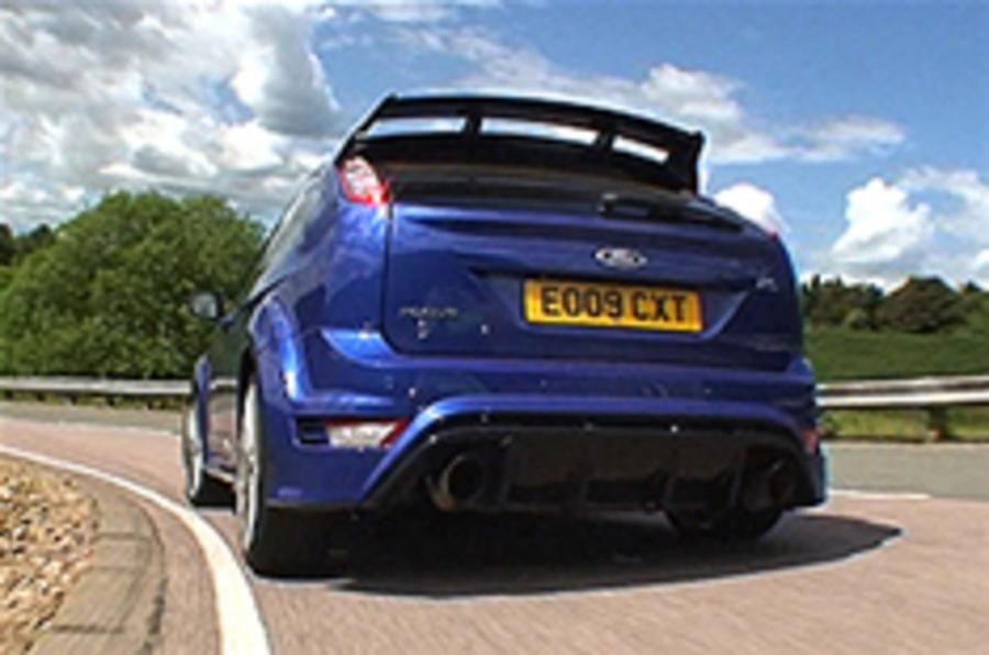 Focus RS-chasing hatch revealed