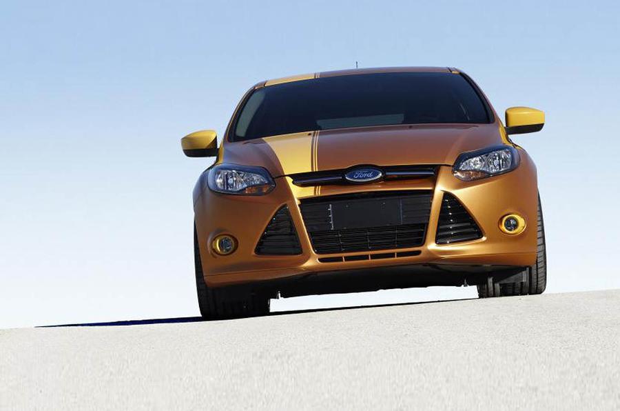 LA motor show: Ford Focus racer