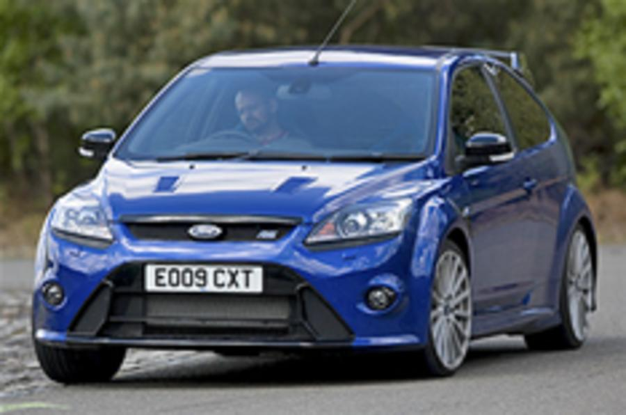Ford Focus RS tuned to 340bhp