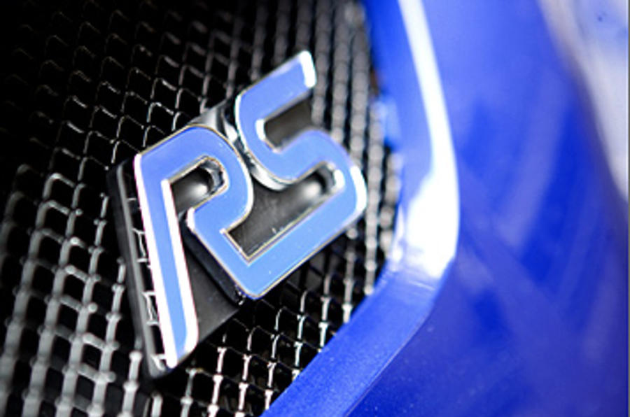Ford confirms new Focus 'RS'