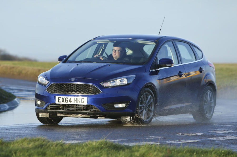 The Ford Focus is a responsive car to drive