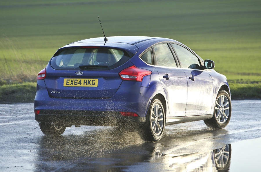 The Ford Focus rides well, but its body control is a little less subtle