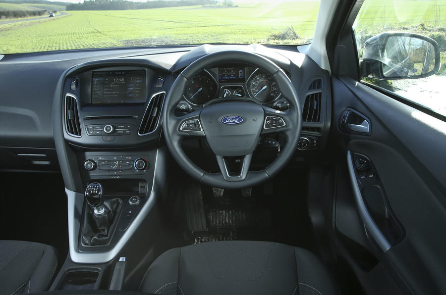 The driver's view from the Ford Focus