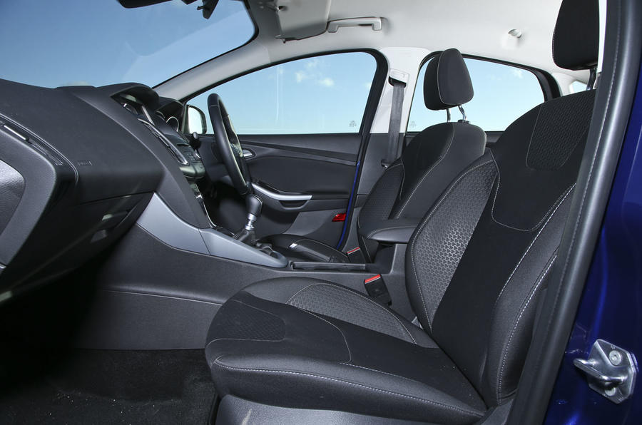 An inside look of the Ford Focus