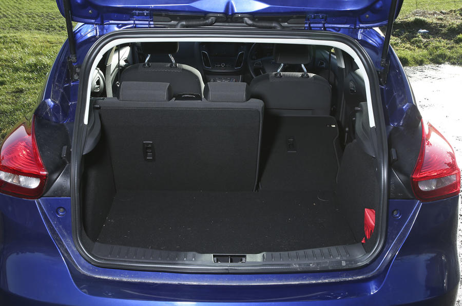 The Ford Focus's boot trails its rivals on space, even though it is capable of holding 316 litre