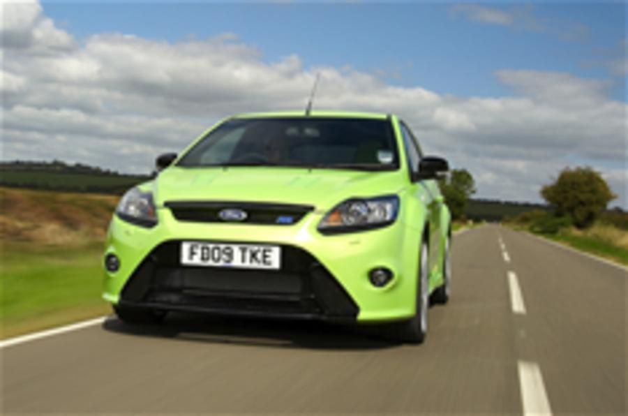 368bhp Ford Focus RS launched