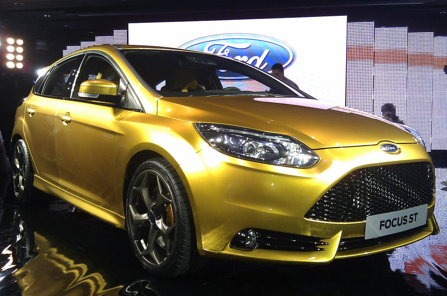 Paris motor show: new Ford Focus ST