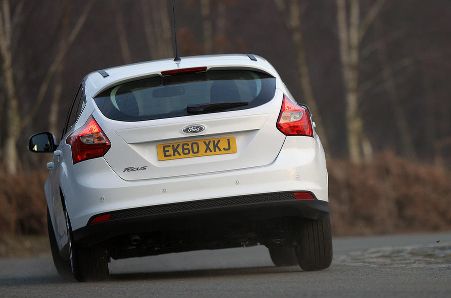 Ford Focus rear cornering