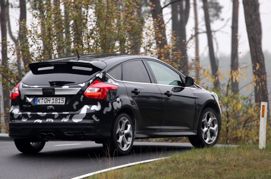 Ford Focus ST ride-along