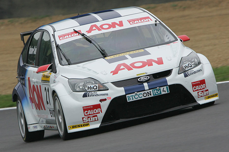 Ford confirms 2011 BTCC plans