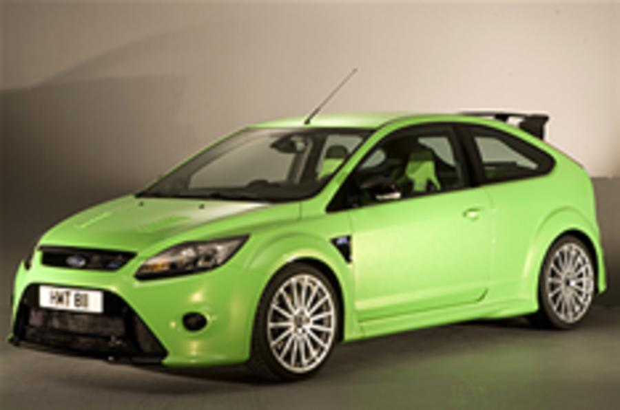 Ford focus rs orders