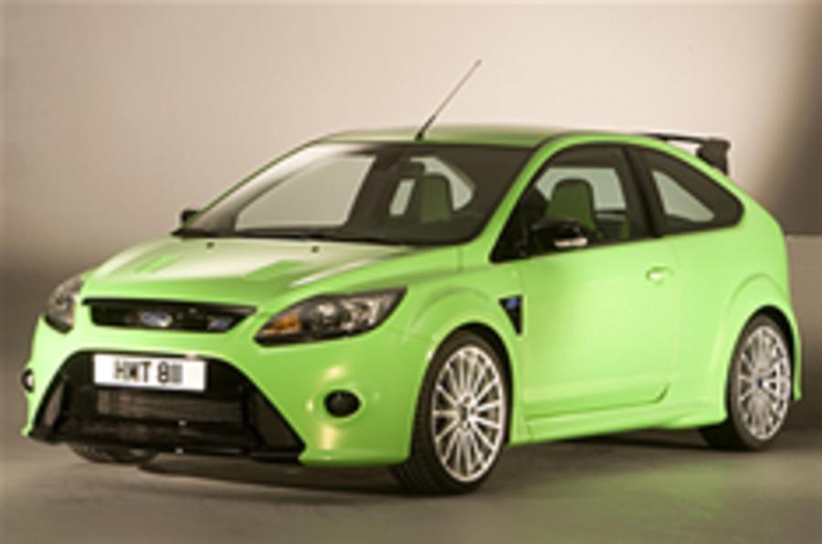 Official details: Ford Focus RS