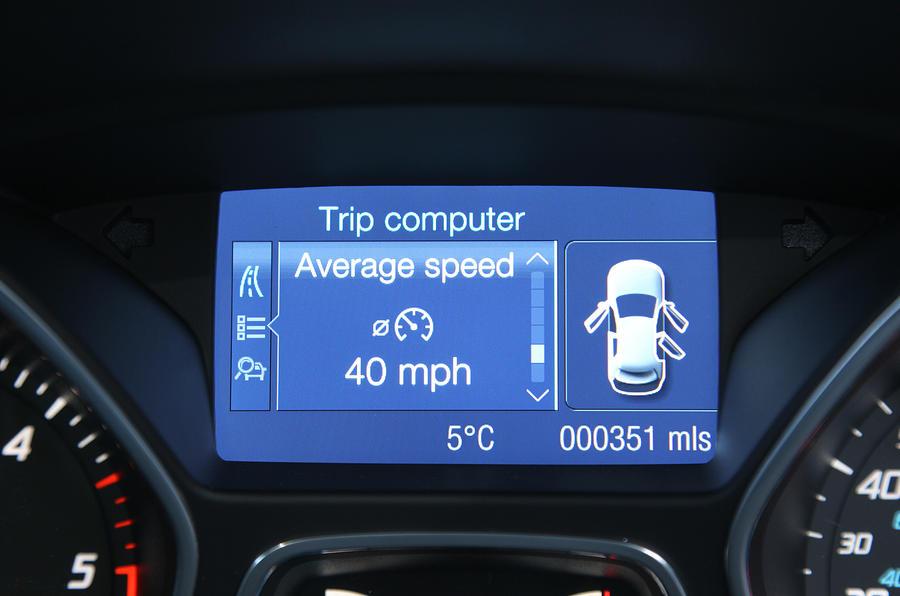 Ford Kuga information screen