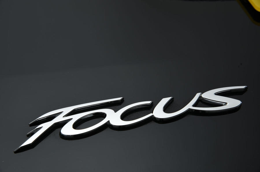 Ford Focus badging