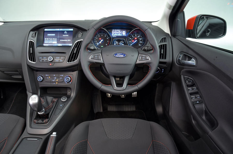 Ford Focus 2014-2018 interior | Autocar