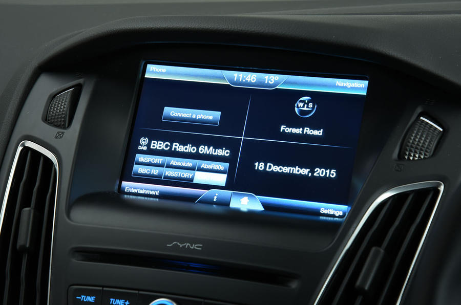 Ford Focus infotainment system