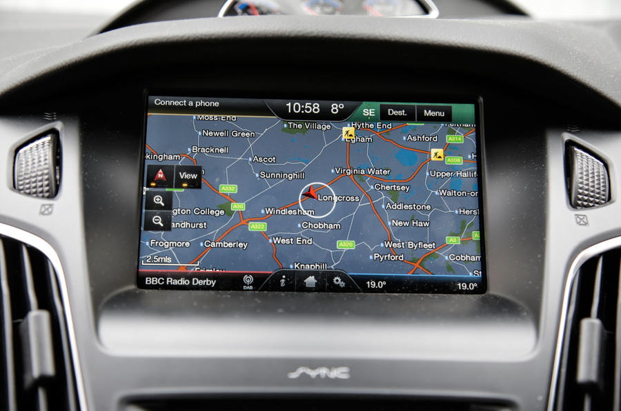 Ford's Sync 2 infotainment system